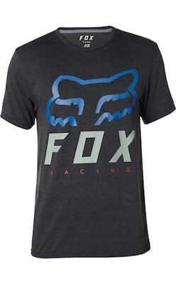 Maglia Fox HERITAGE FORGER SS TECH TEE HTR BLACK Tg. M