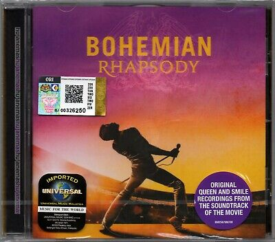 BOHEMIAN RHAPSODY (QUEEN) Original Recording Soundtrack Movie MALAYSIA EU CD NEW
