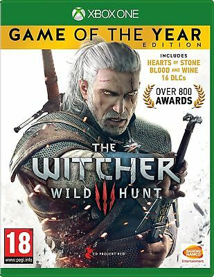 The Witcher 3 Game of the Year Edition Xbox One New and Sealed