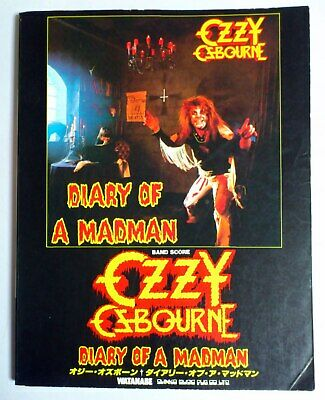 Ozzy Osbourne Diary Of A Madman Band Score Japan Guitar Tab