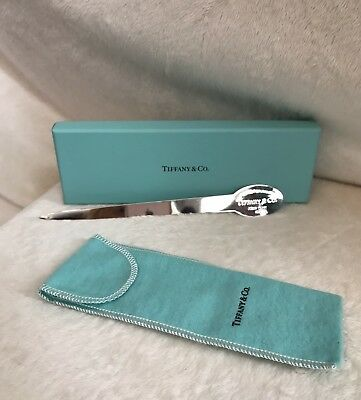 Vintage TIFFANY & CO Sterling Silver RETURN TO TIFFANYS Letter Opener