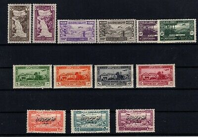 P106602/ French Lebanon / Airmail / Lot 1938 - 1945 Neuf * / Mh Complete 125 €
