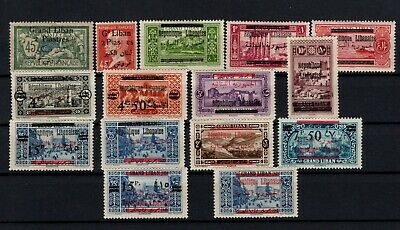 P106607/ French Lebanon / Lot 1925 - 1928 Neuf * / Mh 168 €