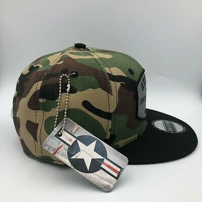 kids fashion snapback hat camo