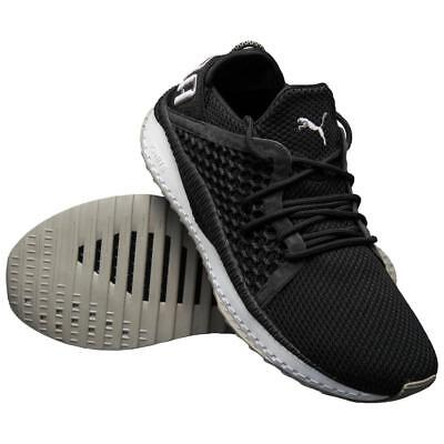 f6e9f90b76059b Puma TSUGI Netfit Mens Trainers Black White Sports Gym Fitness Sports Shoes