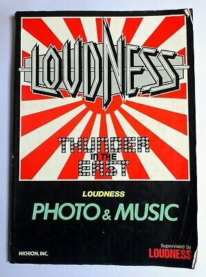 Loudness Thunder In The East Band Score Japan Guitar Tab