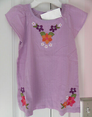 6d7946633bfe NWT GYMBOREE GIRLS Lavender Embroidered Floral Top Size 7 -  14.99 ...