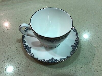 Waterford Malay Fine China Cup And Saucer