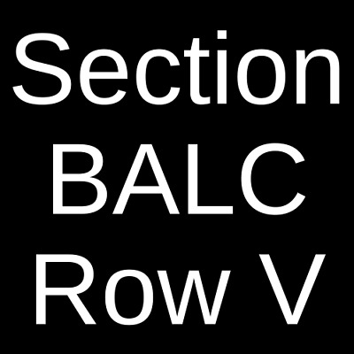 2 Tickets Rainbow Kitten Surprise  6/5/19 Fox Theater - Oakland Oakland, CA
