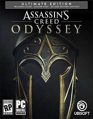 Assassin's Creed Odyssey Ultimate Edition  STEAM PC + BONUS Games