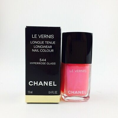 Chanel Le Vernis Nail Colour 544 Hyperrose Glass 13ml NEU OVP