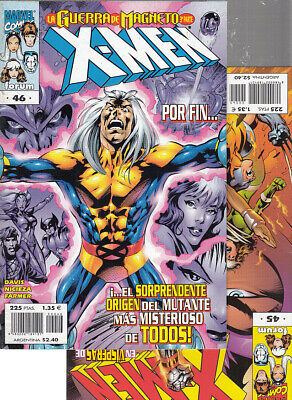 X-MEN  VOL. 2  Nºs.    45.  46.  ALAN DAVIS     ( LOTE  2  NUMEROS )  FORUM.