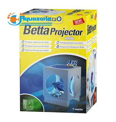 AQUARIUM TETRA BETTA PROJECTOR White Led *1.8L*