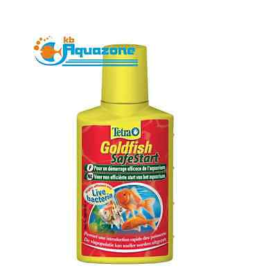 TETRA * GOLDFISH SafeStart  50ml * ANY WATER CONDITIONER * TREATMENT *