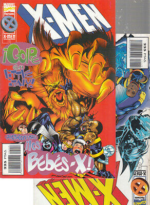 X-MEN  VOL. 2  Nºs.    5.  6.     ( LOTE  2  NUMEROS )  FORUM.