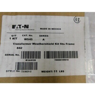 Eaton WS45 Transformer Weather Shield for Frame 842