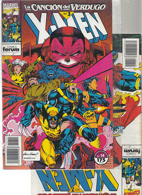 X-MEN  VOL. 1  Nºs.  14. 15     ( LOTE  2   NUMEROS )  FORUM.