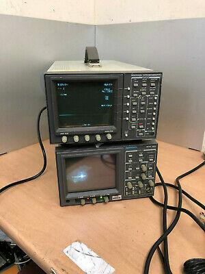Tektronix WFM601M SDI waveform monitor SERIAL COMPONENT MONITOR WFM 300A TESTED