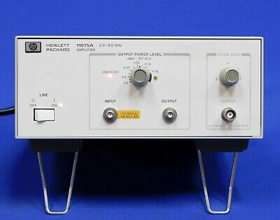 Agilent HP Keysight 11975A Amplifier 2 GHz to 8 GHz Untested Item As Is