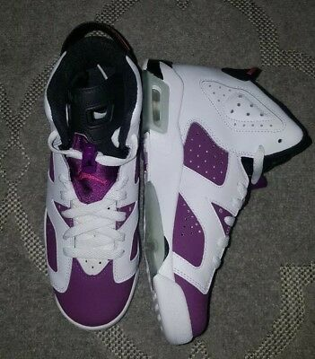 100% authentic 72139 cb27d Nike Air Jordan 6 Retro GG White Vivid Pink Sz 6.5Y (0055) 543390