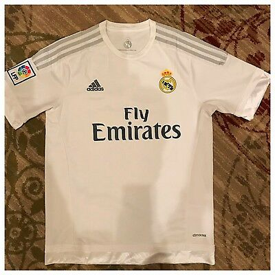 ADIDAS REAL MADRID Gareth Bale Jersey 2014 2015 Home Large -  34.33 ... ce65f7c88