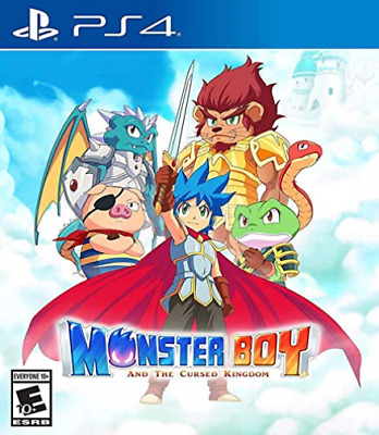 Ps4 Action-Monster Boy And The Cursed Kingdom (Uk Import) Ps4 New