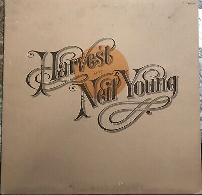 Neil Young Harvest Vinyl Original Play Tested VG +. Original Sleeve And Insert.