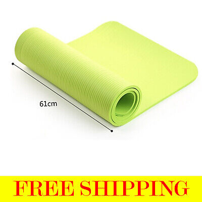 New Yoga Mat Non-slip Exercise Mat Pilates Training Thick Cushion Gym Fitness