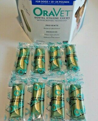 Oravet Dental Hygiene Chews Dogs 10-24lbs (8 count) By Merial