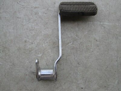 Harley-Davidson Rear Brake Pedal with Pad EVO FLH OEM