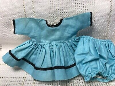 1957 Vintage Doll CLOTHES - Vogue Ginny, (tag) #7041 Dress & Panties, 8""
