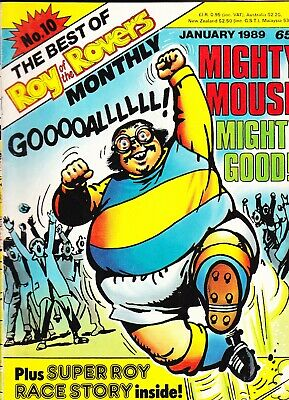 THE BEST OF ROY OF THE ROVERS MONTHLY No 10 January 1989 Mighty Mouse