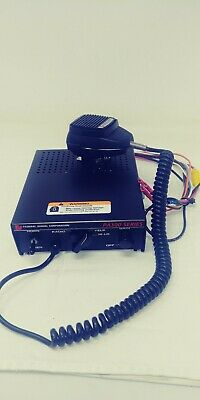 Federal Signal PA300 Series Electronic Siren w/ microphone