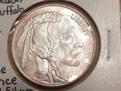 Indian Head/Buffalo 1 Troy oz .999 Fine Silver