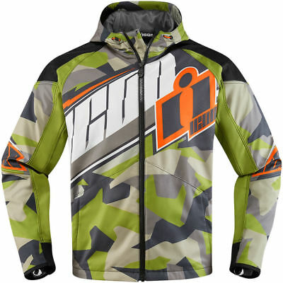 Icon Merc Deployed Jacket Green   ** Clearance ** Fast Shipping **