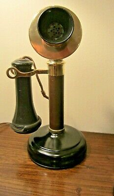 Unique Kellogg candlestick antique phone dated to 1901