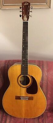 1965 Levin LT-16 Vintage Sweden Acoustic Electric Guitar