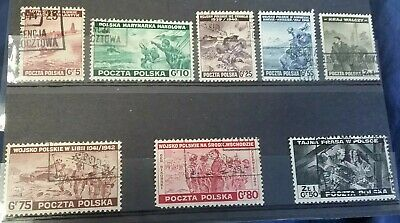 Kerryyw Poland #3K9-16,Exile Gov't in Great Britain  lot#10