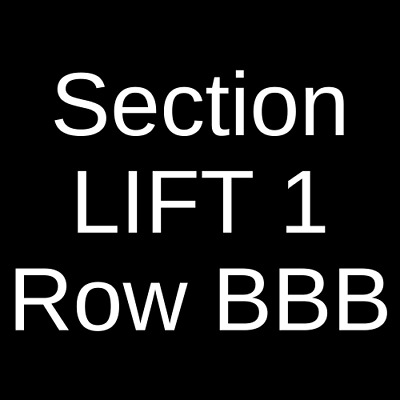 2 Tickets George Thorogood and The Destroyers 4/30/19 Colorado Springs, CO