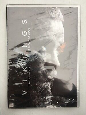 Vikings: The Complete Second Season (DVD, 2014, New)**Free Shipping **