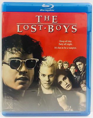 The Lost Boys (Blu-ray Disc, 2008, Special Edition) Kiefer Sutherland