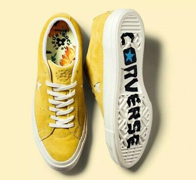 33c0b2f7dca Converse Golf Le Fleur One Star Size 10 44 Sulphur Ox Tyler The Creator  Sneakers