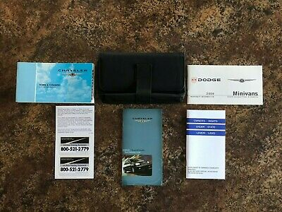 2009 chrysler town and country owners manual