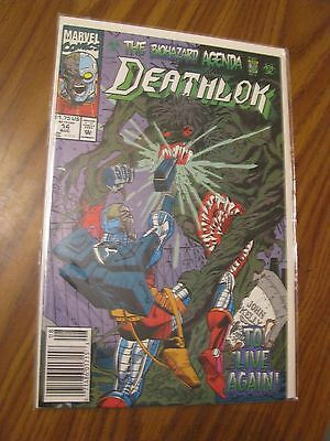 Deathlok #14 1992 Marvel Comics Bagged and Boarded - C199