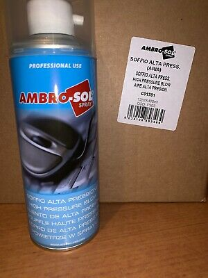 Bomboletta Spray Aria Compressa Alta Pressione 400Ml