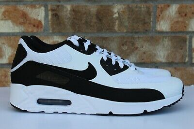 MEN'S NIKE AIR Max 90 Ultra 2.0 Essential Shoes White Black