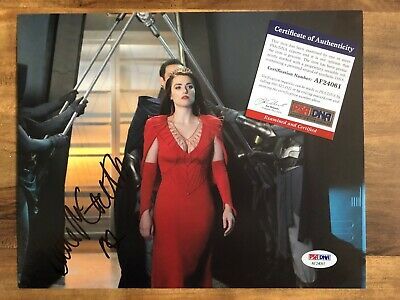 Katie McGrath Sexy Signed 8x10 Autographed Photo SUPERGIRL PSA/DNA Authentic COA
