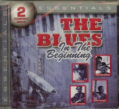 THE BLUES - In The Beginning - 2 CD SET - NEW - SEALED - FAST FREE SHIPPING !!!