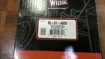 Wilson 90-01-4406 Reman Alternator 2 Groove Pulley 7SI 70A 12 O'clock NO CORE