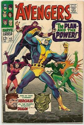 AVENGERS #42    Beautiful Early Silver Age  NICE BOOK!